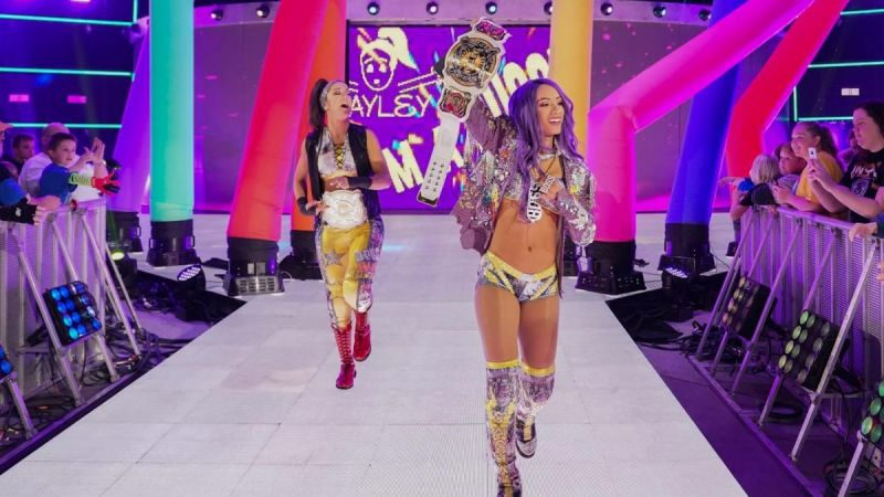Sasha Banks could shift her focus on Becky after losing the tag team titles at WrestleMania