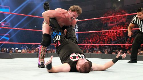 Owens has always bent the rules to get the win, even when he feuded with former friend Chris Jericho.
