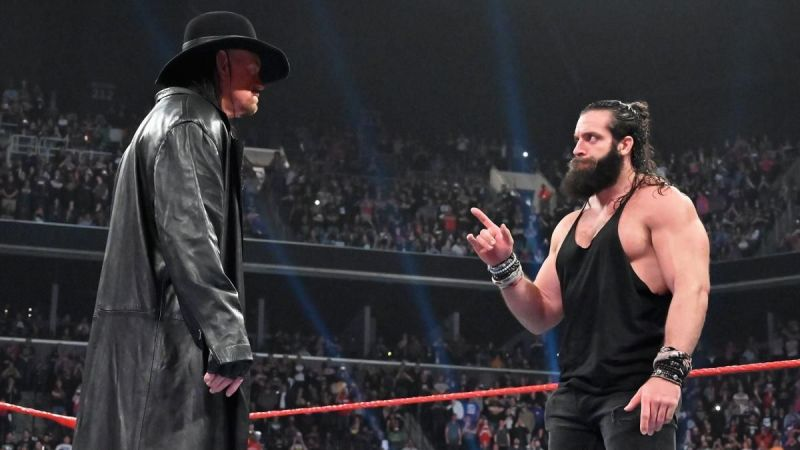 Is The Undertaker set to face Elias in a long-term feud?