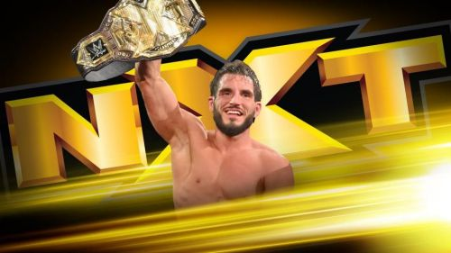 Johnny Gargano has finally reached the top of the NXT mountain