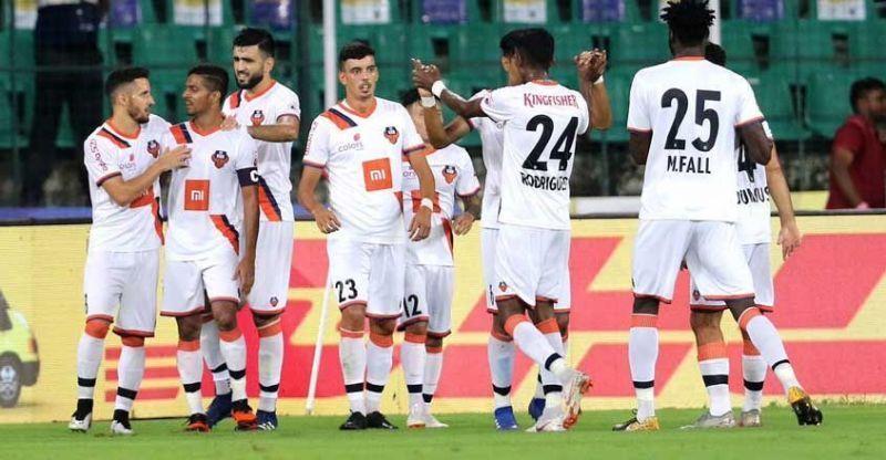 FC Goa beat Chennai City FC.