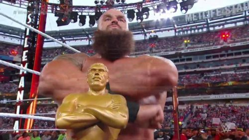 Braun is the new winner of the Battle Royal
