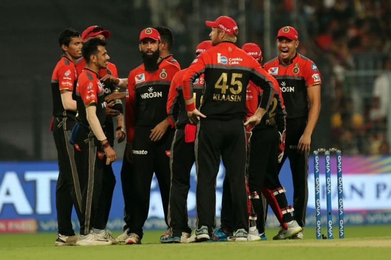 RCB will be high on morale after their win over KKR (Image courtesy: IPLT20/BCCI)