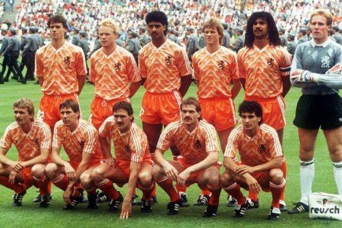 The 1988 Euro-winning Dutch team