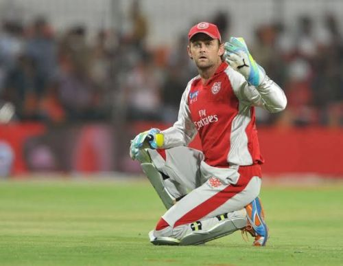 Adam Gilchrist also took a Wicket in IPL.