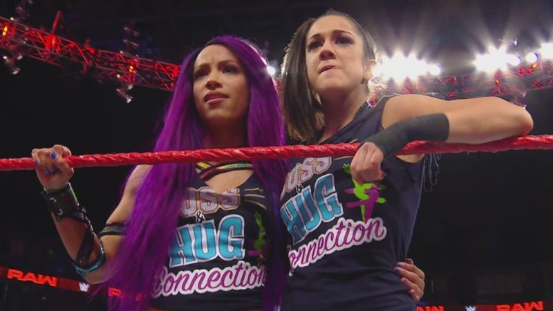 Bayley and Sasha Banks have a good reason to be frustrated if reports of their behavior aren