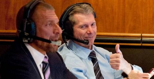Triple H (left) and Vince McMahon (right) are constantly looking to hire the best talent in the professional wrestling industry, to the WWE