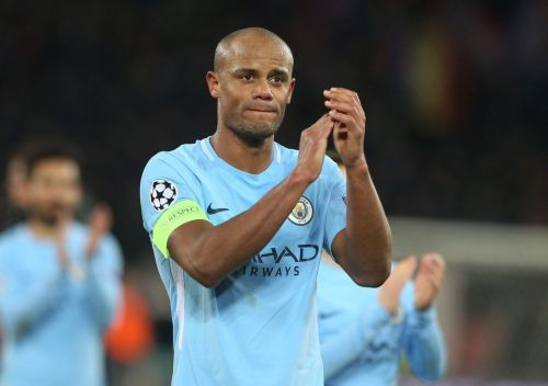 Vincent Kompany, City's undisputed leader, is in the final year of his contract.