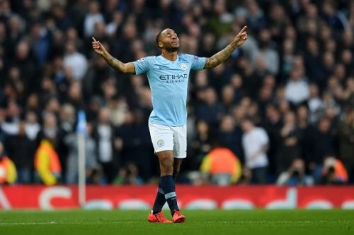 Sterling will be looking to do the damage against Spurs