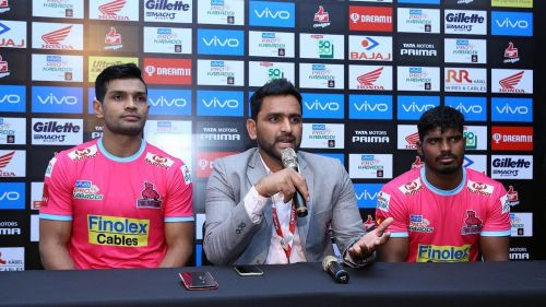 Deepak Niwas Hooda was retained by the Jaipur Pink Panthers ahead of the player auction