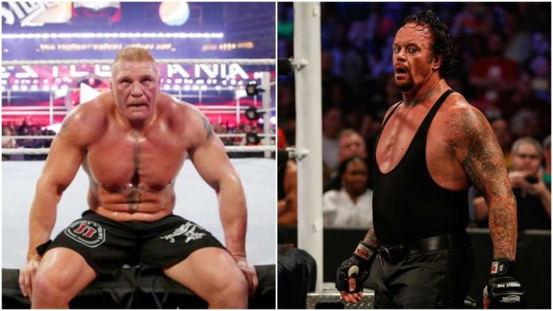 Two of the biggest superstars in the history of WWE!