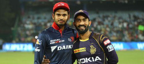 दिल्ली और कोलकाता के कप्तान
