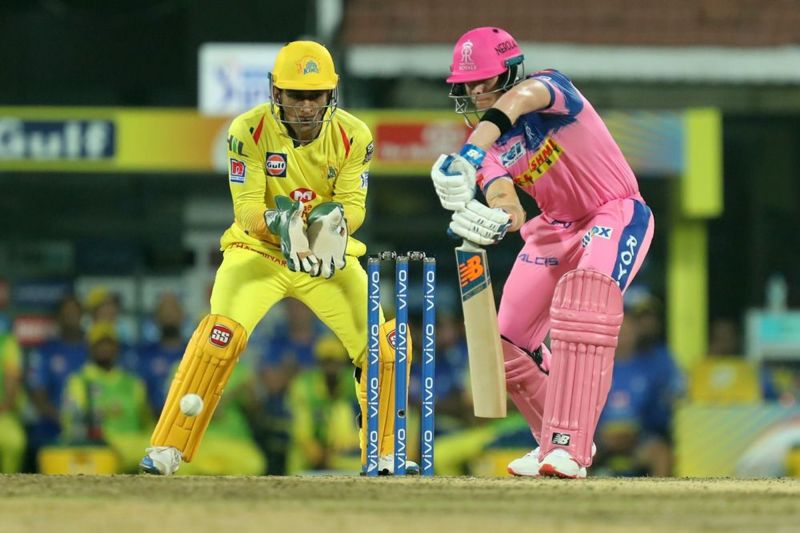Smith got going but failed to convert it into a big score against CSK. (Image Courtesy: IPLT20)