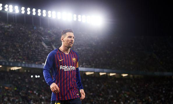 Barcelona star - Lionel Messi
