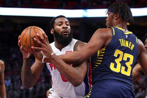 Drummond, in action against the Indiana Pacers' Myles Turner, must be efficient and defensively aware