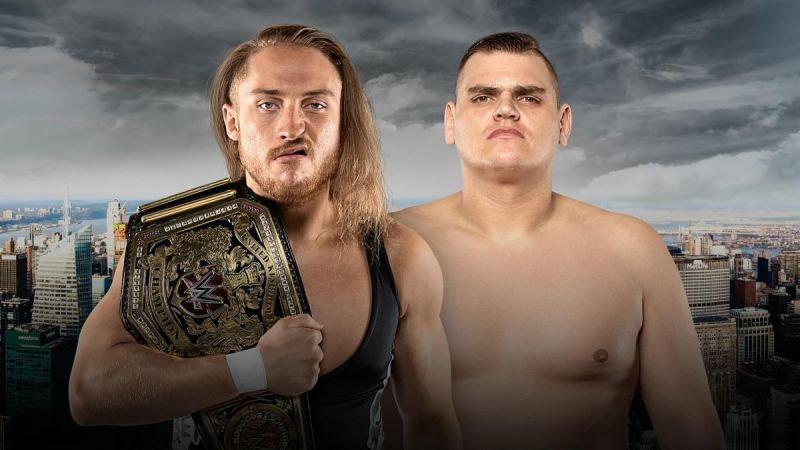 NXT Takeover: New York: WWE United Kingdom Match - WALTER vs Pete Dunne