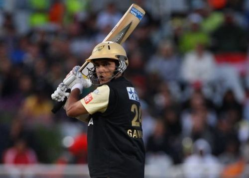 Sourav Ganguly's 75* is the highest individual score in KKR vs RR matches at Eden Gardens.