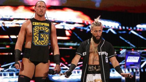 The wrestlers formerly known as Big Cass and Enzo Amore invaded the G1 supershow.