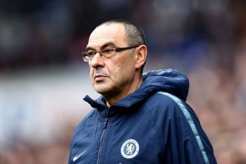 Maurizio Sarri is embattled at Chelsea