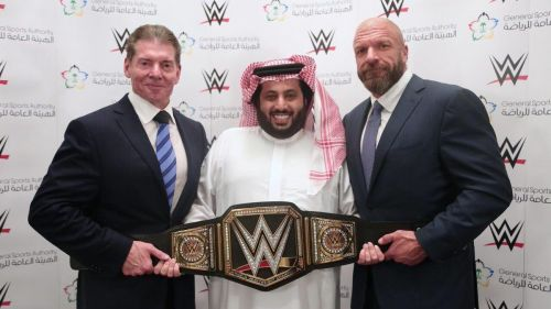 Triple H has to wrestle in Saudi Arabia as long as he can