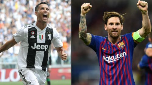Lionel Messi and Cristiano Ronaldo are the top-scorers for their respective clubs this season