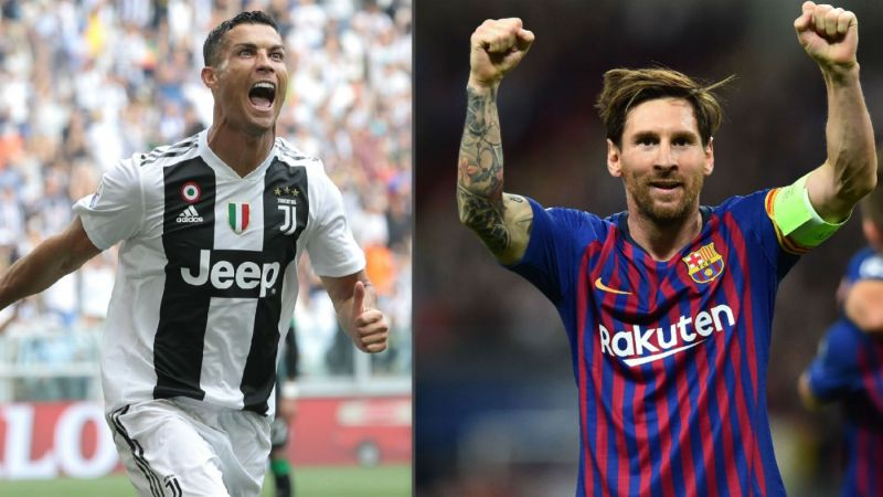 b26ef39563a Lionel Messi and Cristiano Ronaldo are the top-scorers for their respective  clubs this season
