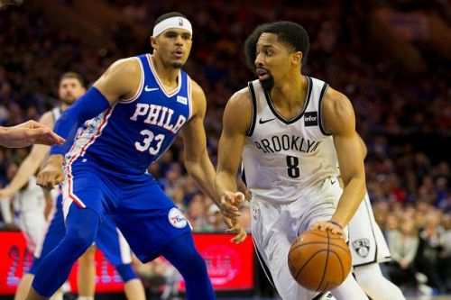 Tobias Harris and Spencer Dinwiddie