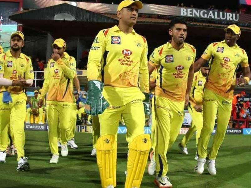 तीन बार की आईपीएल विजेता हैं चेन्नई सुपर किंग्स की टीम