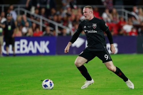33-Year Old D.C United Player Wayne Rooney.