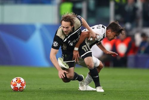 Blind was one of the better players for Ajax in the defence, sniffing out any and every danger.