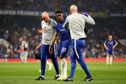 The teenager is expected to miss the rest of the season including England's UEFA Nations League semi finals