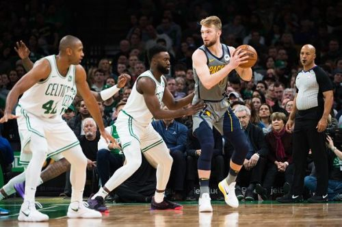 The Celtics and Pacers are battling for playoff position