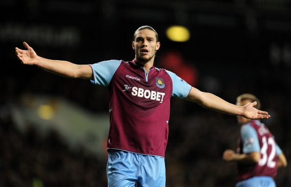 Experienced Premier League striker Andy Carroll will be out of contract at the end of this season