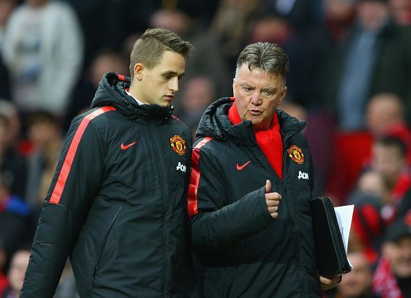 Adnan Januzaj with Louis van Gaal