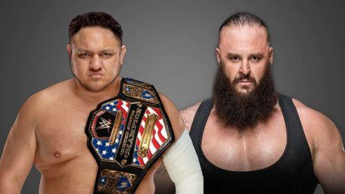 The Long-awaited Joe/Strowman feud has finally kicked off.