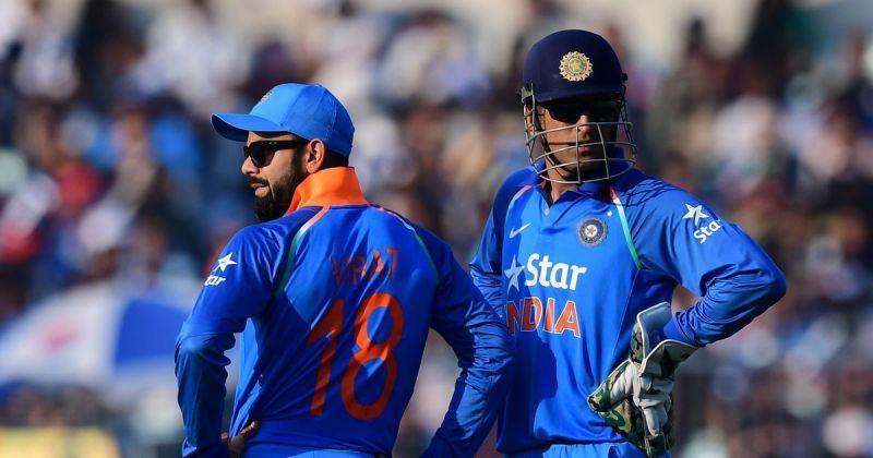All time Greats MSD & Virat Kohli.