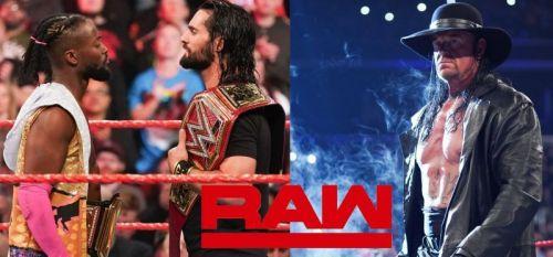 undertaker returned at this week's raw
