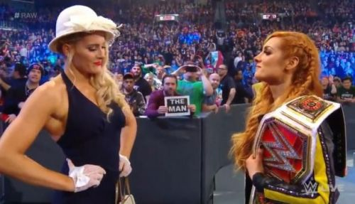 Lacey Evans finally made a statement on Raw