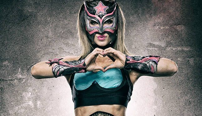 The former Lucha Underground Champion says she had a hand the WWE