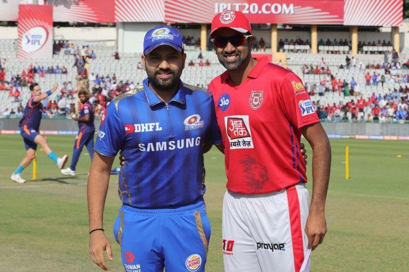 Mumbai Indians vs Kings XI Punjab (Source - iplt20/BCCI)