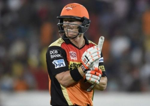 Image result for david warner basil thampi