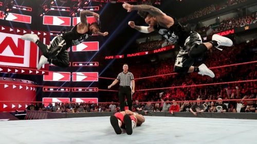 Usos on RAW this week