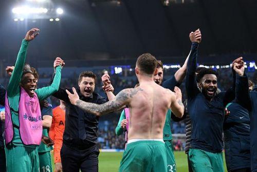 Manchester City v Tottenham Hotspur - UEFA Champions League Quarter Final: Second Leg