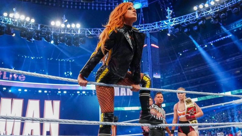 Becky now rules both Raw and SmackDown