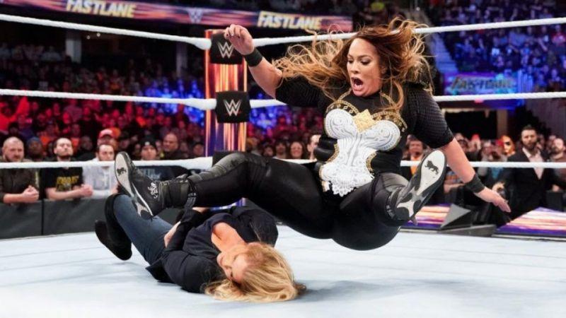 Nia Jax was injured at WrestleMania