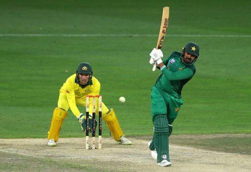 Haris Sohail scored 2 centuries vs. Australia