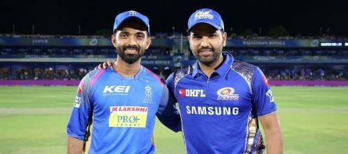 Rajasthan Royals vs Mumbai Indians (Source - IPLT20/BCCI)