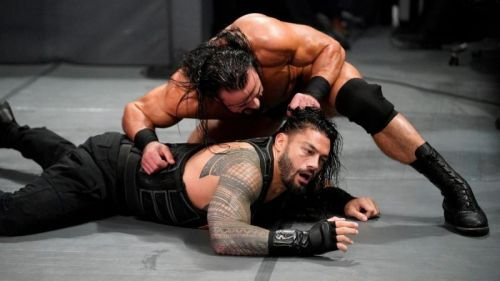 Reigns can't lose his returning 'Mania match, right?