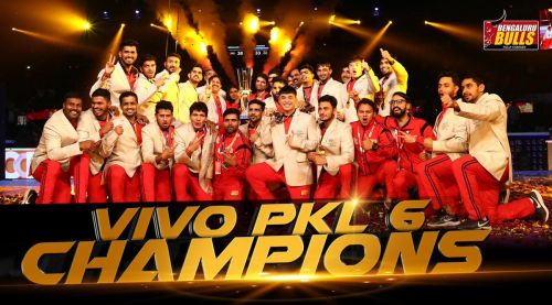 Have the Bulls done enough to retain the title? (PC: Bengaluru Bulls Twitter handle)
