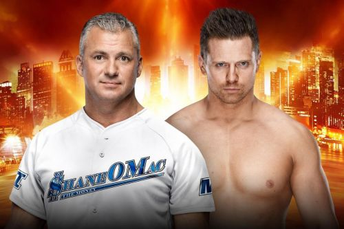 Of Course, it's on first, it's Shane McMahon